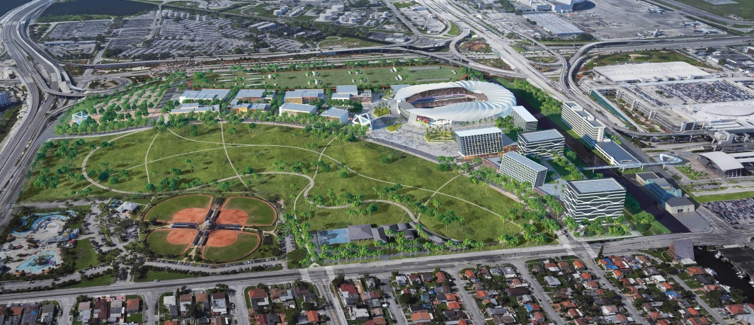 Plans for Miami Freedom Park Advance